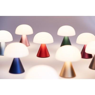 Мини светодиодная лампа Lexon MINA, 8,3 х 7,7 см, красная