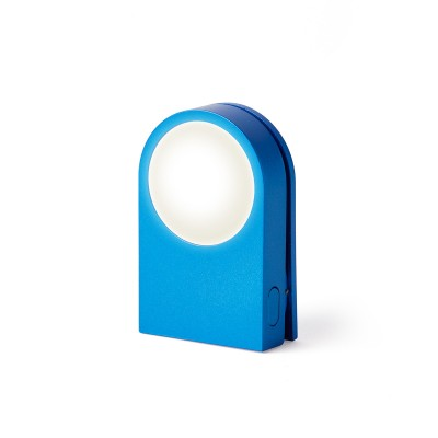 "Фонарик-прищепка для безопасности на дороге ""LUCIE"", синий"