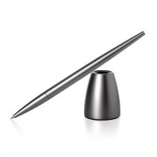"""Ручка с подставкой """"SCRIBА"""", черный"""
