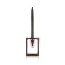 Шариковая ручка в подставке Liquid, серый
