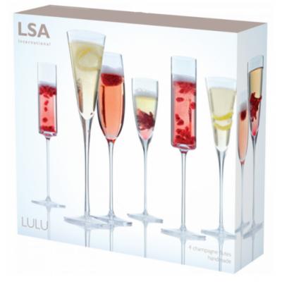 Набор бокалов для шампанского Lulu