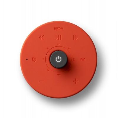Радио FM с Bluetooth-динамиком Lexon Hibi, красное