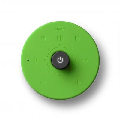 Радио FM с Bluetooth-динамиком Hibi, лайм