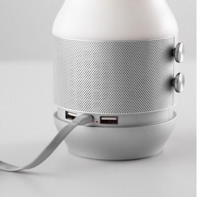 """Динамик с LED """"TERRACE"""" (Bluetooth), серая"""