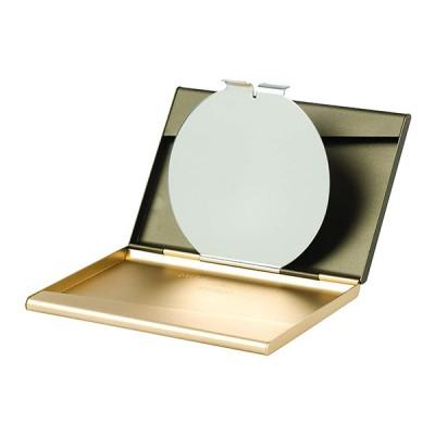 """Визитница с зеркалом """"FINE"""", золотистый"""