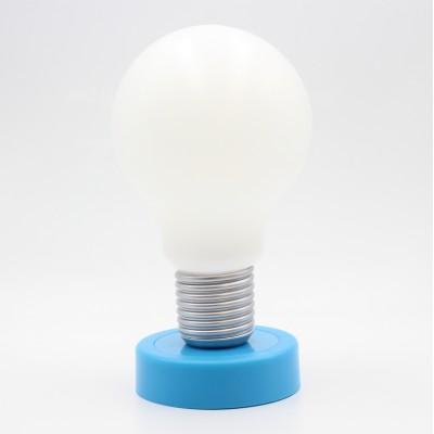 Лампа настольная Прикоснись, голубой