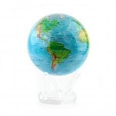 """Гиро-глобус Solar Globe """"Физическая карта"""" 21,6 см (MG-85-RBE)"""
