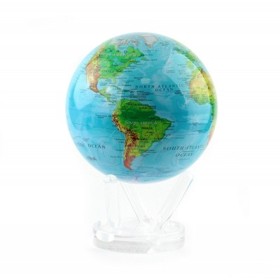 "Гиро-глобус Solar Globe Mova ""Физическая карта"" 21,6 см (MG-85-RBE)"