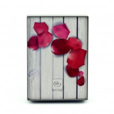 "Фоторамка ""Лепестки роз"" 13x18 см серая"