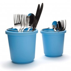 Универсальная подставка для нужных вещей, голубая