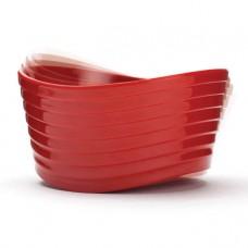 Миска красная, меламин