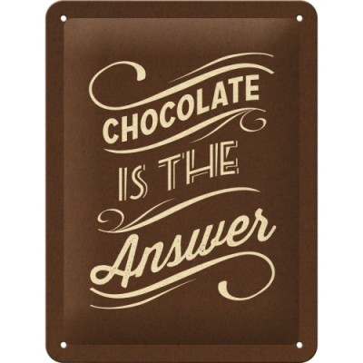 "Указатель ""Chocolate is the Answer"""