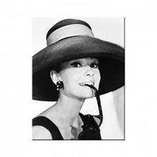 """Магнит """"Breakfast at Tiffany's - Audrey - Hat & Glasses"""""""