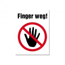 "Магнит ""Finger weg"""