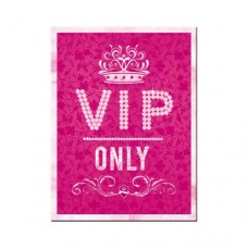 "Магнит ""VIP Pink Only"""