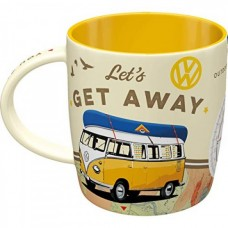"""Кружка """"VW Bulli -Let's Get Away! """""""