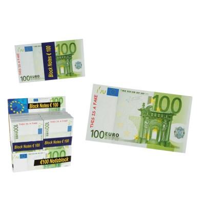 "Сувенирная купюра ""100 евро"" набор 100 шт."