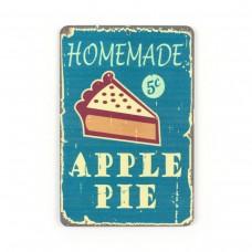 "Магнит винтаж ""Apple Pie"", металл, 10 х 8 см"
