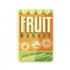 "Магнит винтаж ""Fruit Market"", металл, 10 х 8 см"