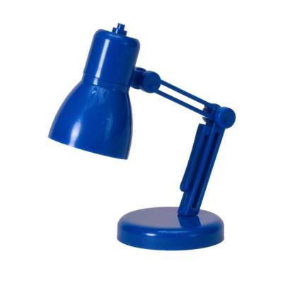 Мини LED лампа для чтения, синяя