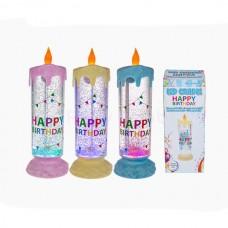 """LED-свеча """"Happy Birthday"""""""