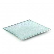 Тарелка квадратная Фольга