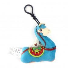 "Плюшевая игрушка ""Музыкальная лама"", голубая"