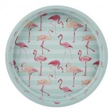 """Поднос """"Flamingo"""" 33 см, зеленый"""
