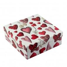 Коробка подарочная ООТВ Heart 20 х 20 х 7,5 см