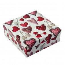 Коробка подарочная ООТВ Heart 22 х 22 х 8 см