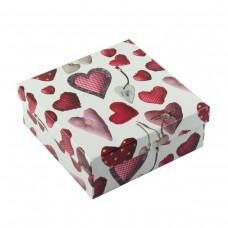 Коробка подарочная ООТВ Heart 16 х 16 х 6,5 см