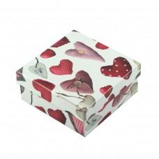 Коробка подарочная ООТВ Heart 12 х 12 х 5,5 см