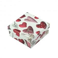 Коробка подарочная ООТВ Heart 8 х 8 х 4,5 см