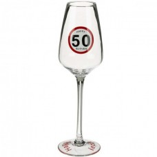 Бокал ООТВ для шампанского Happy Birhday 50