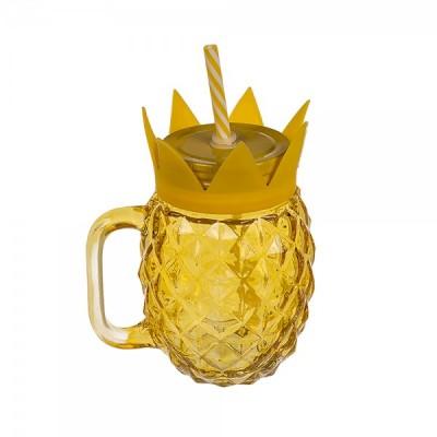 Кружка ООТВ Pineapple стеклянная