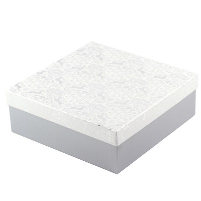 "Коробка подарочная ""Silver"" 22 х 22 х 8 см"