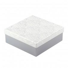 "Коробка подарочная ""Silver"" 20 х 20 х 8 см"