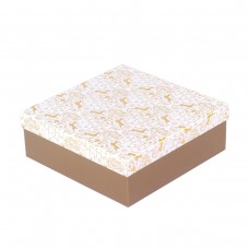 Коробка подарочная  Gold 22х22х8 см