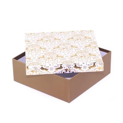 Коробка подарочная Gold 20 х 20 х 8 см