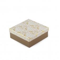 Коробка подарочная Gold 16 х 16 х 8 см
