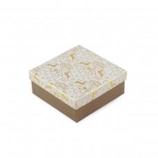 Коробка подарочная Gold 14 х 14 х 8 см