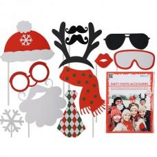 Набор ООТВ для вечеринки: шапка, усы, очки