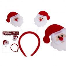 Обруч на голову Санта