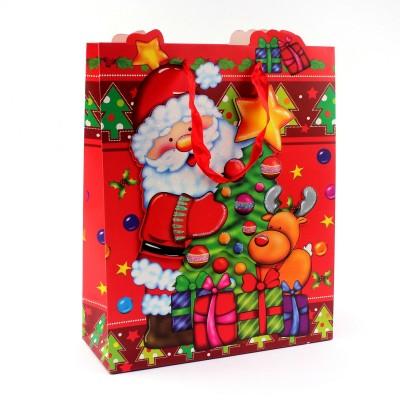 """Пакет бумажный """"Christmas""""/ 26 х 10 х 32 см."""
