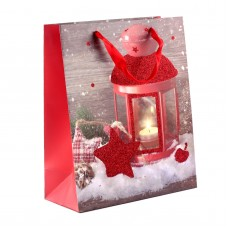 """Пакет бумажный """"Snow Christmas"""", 26 х 32 см"""