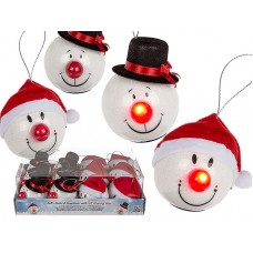 "Шар ""Santa & Snowman"" LED"