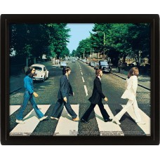 "3D Постер ""The Beatles (Abbey Road)"""
