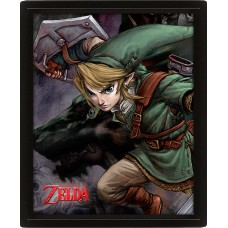"3D Постер ""The Legend Of Zelda (Twilight Princess)"""
