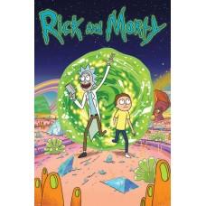 """Постер """"Rick and Morty (Portal)"""""""