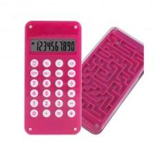 """Калькулятор """"Лабиринт"""" розовый"""